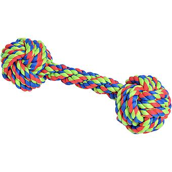 Petface Knotted Rope Bone Dog Toy-
