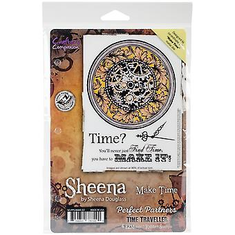 Sheena Douglass Perfect Partners Time Traveller Stamps-Make Time