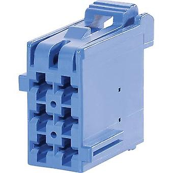 TE Connectivity Socket enclosure - cable J-P-T Total number of pins 6 Contact spacing: 5 mm 1-965640-1 1 pc(s)