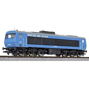Liliput L132057 H0 Diesel locomotive DE 2500 henschel-BBC No. 202 004-8 blue AC-version