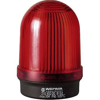 Light Werma Signaltechnik 210.100.00 Red