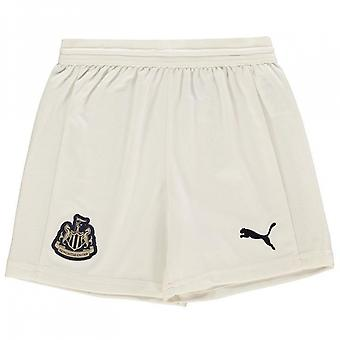 2018-2019 Newcastle Away Football Shorts (Kids)
