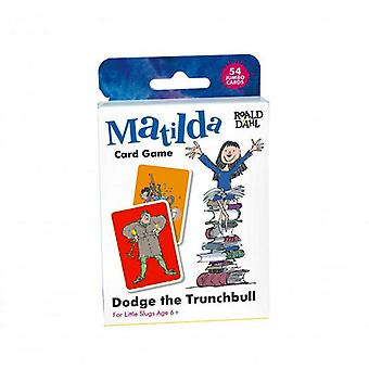Roald Dahl Matilda Dodge el juego de cartas de Trunchbull
