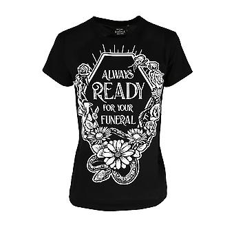 Restyle - Always Ready For Your Funeral - Fitted T-Shirt