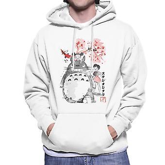 My Neighbour Totoro Sumie Men's Hooded Sweatshirt