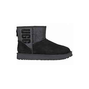 UGG Classic Mini Sparkle 1098452BLK universal winter women shoes