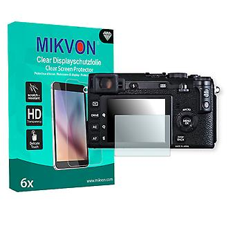 Fujifilm X-E1 Screen Protector - Mikvon Clear (Retail Package with accessories)