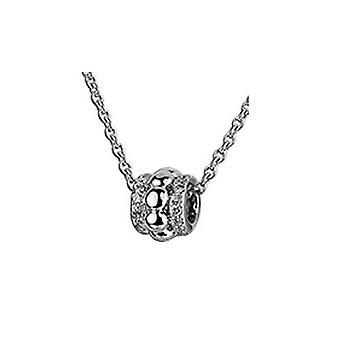 Ketting met hanger van 925 Sterling zilver sieraden, kraal met stenen
