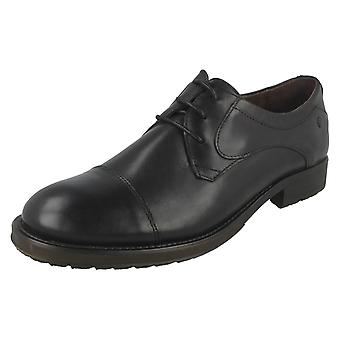 Mens Base London Lace Up Shoes Livingston