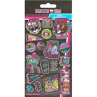 Monster High Sparkly Stickers Fun Foiled Stickers