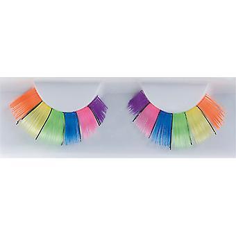 Pestañas postizas arco iris-orgullo