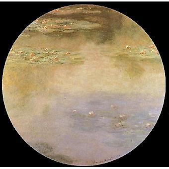 Water lilies, Claude Monet, 50x50cm