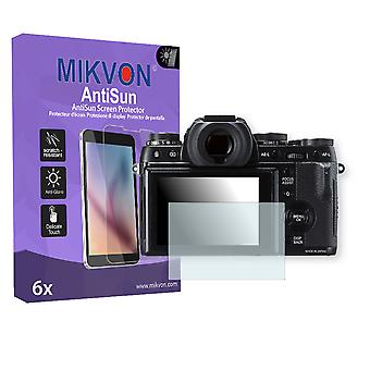 Fujifilm X-T1 Screen Protector - Mikvon AntiSun (Retail Package with accessories)