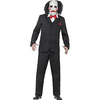 Saw Jigsaw Costume, XL