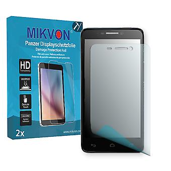 Alcatel One Touch Idol 6030D Screen Protector - Mikvon Armor Screen Protector (Retail Package with accessories)