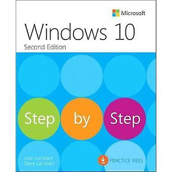 Windows 10 Step by Step by Joan Lambert - 9781509306725 Book