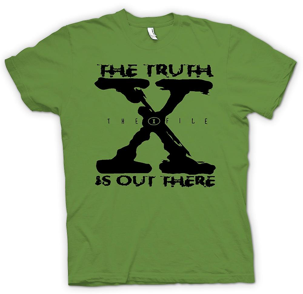 Mens T-shirt - X File Truth Is Out There - UFO