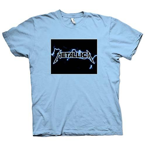 Herren T-Shirt - Metallica Logo - Rock Metall