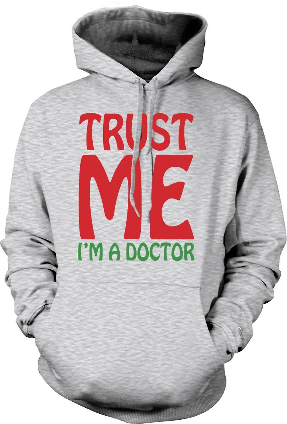 Mens-Hoodie - Vertrau mir ich bin ein Arzt - lustig