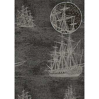 Non-woven wallpaper ATLAS SIG-584-2