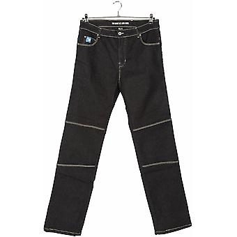 Spada Grey Rigger Selvedge Short Womens Motorcycle Jeans