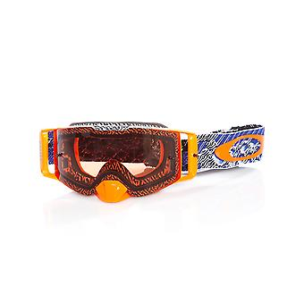 Oakley Blue-Bronze Front Line MX Goggle