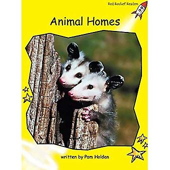 Animal Homes: Level 2: Early (Red Rocket Readers: Non-fiction Set B)