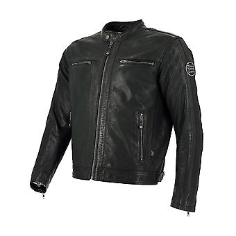 Richa Brown Goodwood Perforated Motorcycle Leather Jacket