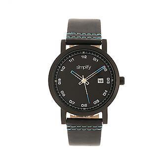 Simplify The 5300 Strap Watch - Black