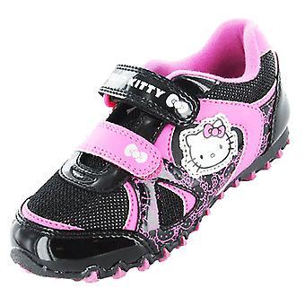 البنات مرحبا كيتي كارتون حرف سنوودروب مدرب عارضة الأحذية UK7