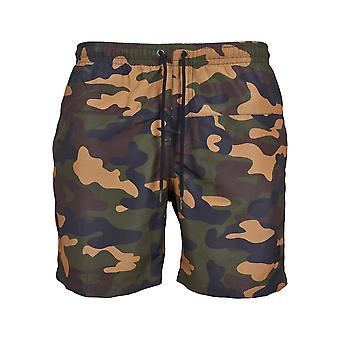 Urban classics men's swim shorts Camo