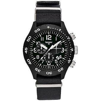 Traser H3 watch professional officer chronograph Pro P6704. 4A3. I2. 01-102355