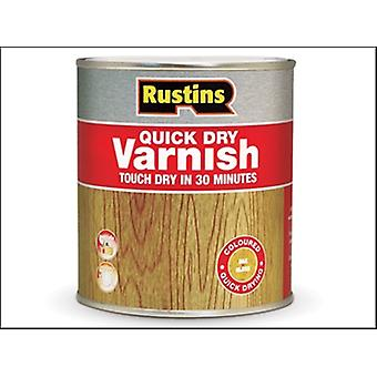 Rustins Quick Dry Varnish Gloss Clear 500ml