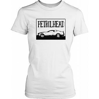 Petrolhead Car with Hoosier Tyres Ladies T Shirt