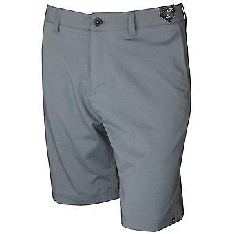 Anfibios de sarga YD de Quiksilver para hombre Shorts cortos de 20