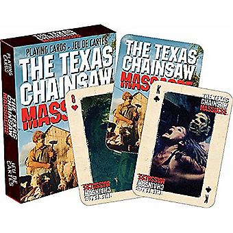 Texas Chainsaw Massacre set of playing cards    -nm-