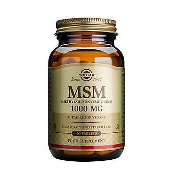 Solgar MSM 1000 mg Tabletten, 60