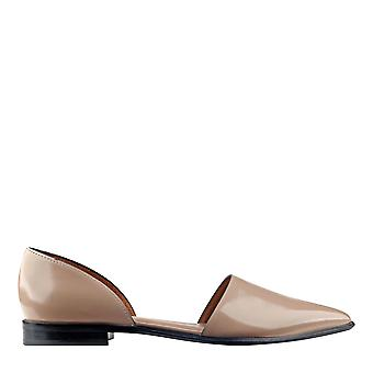 Marc Fisher Womens Amelie Leather Pointed Toe Casual Slide