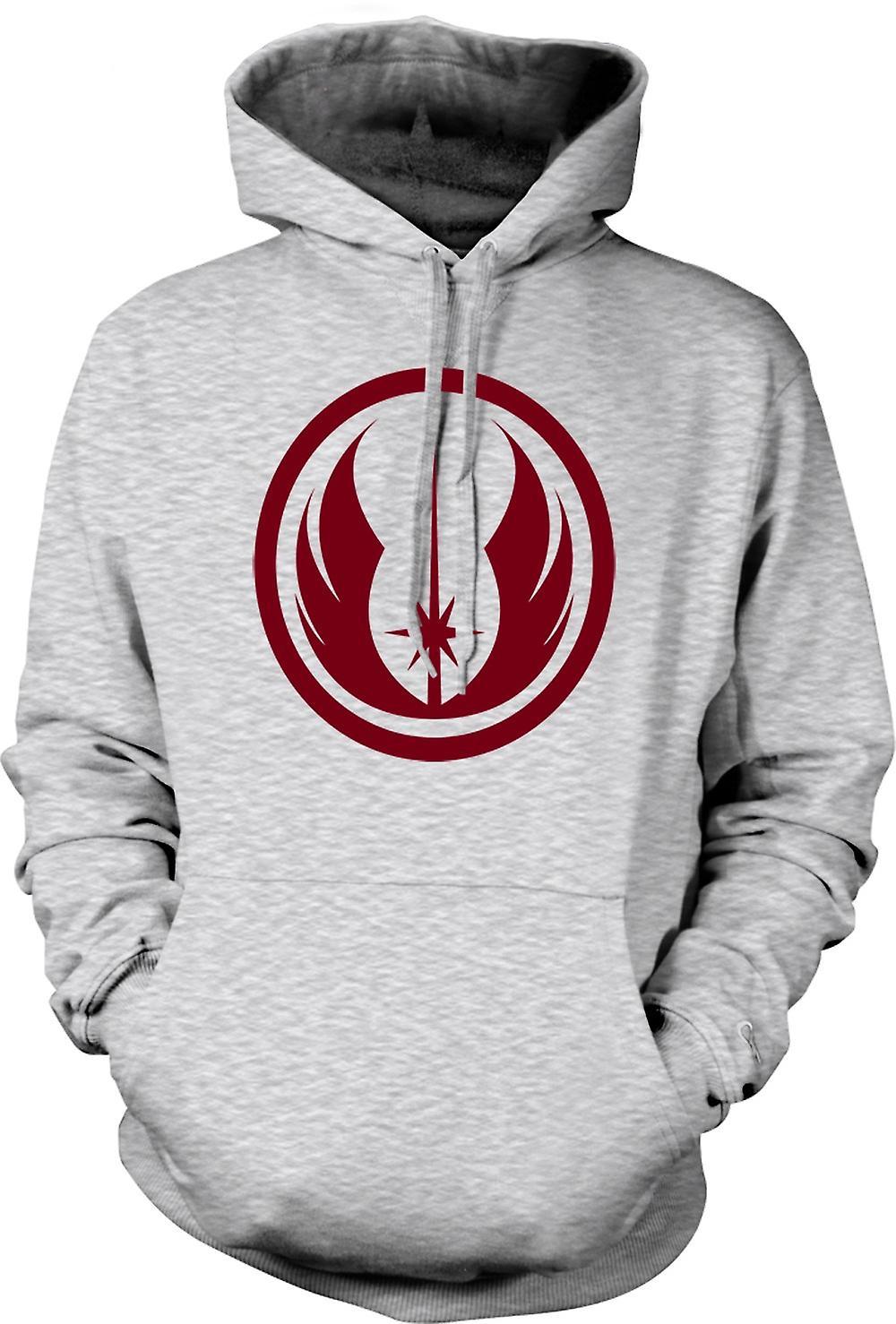 Mens Hoodie - ordine Jedi - Star Wars