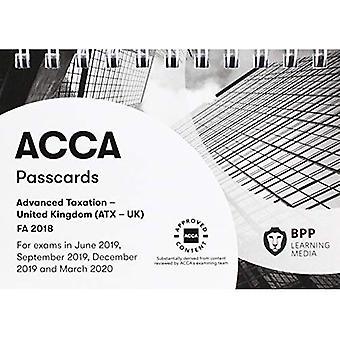ACCA Advanced Taxation FA2018: Passcards