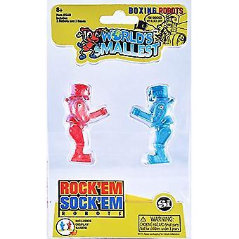 Worlds Smallest Rock 'Em Socke 'Em Roboter
