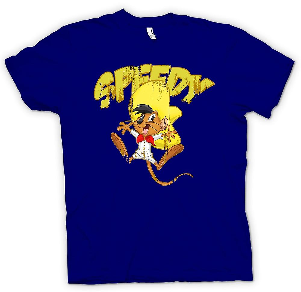 Herr T-shirt - snabb - Speedy Gonzales