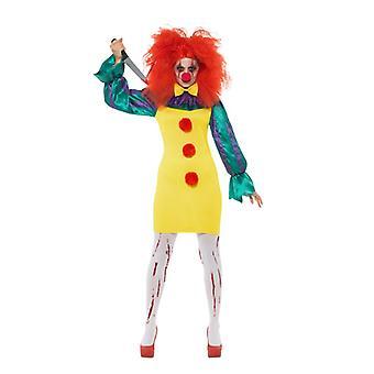 Klassieke Halloween Horror clown Women's Costume carnaval