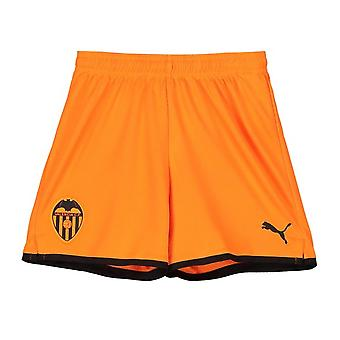 2019-2020 Valencia Away Puma Shorts (Orange) - Kids