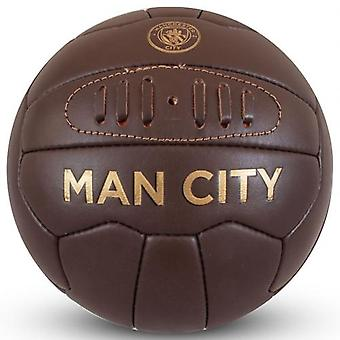 Manchester City Retro Heritage Football