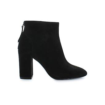 ASH BLACK SUEDE JOY BOOTIE