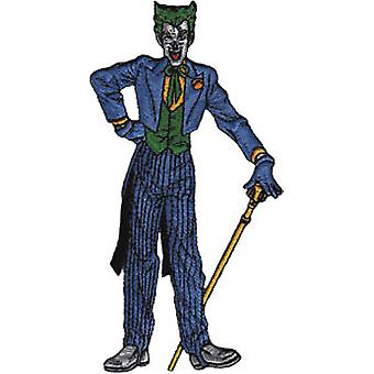 Patch - DC Comic - Batman - Joker standing Iron On Licensed Gifts Toys p-dc-0018