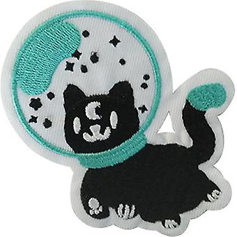 Patch - Space - Spaced Out Kitty Icon-On p-dsx-4786