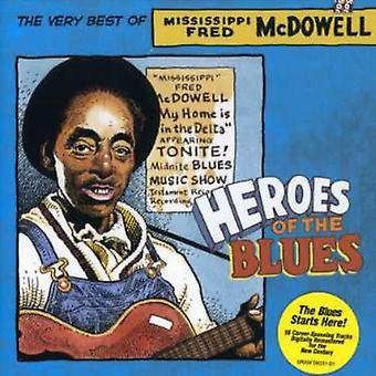 Fred McDowell - helden van de Blues [CD] USA import
