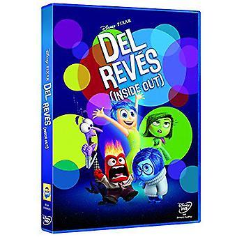 Disney Del Reves (Inside Out) Disney Dvd